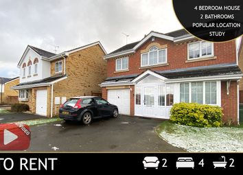 Thumbnail 5 bed detached house to rent in Hill Field, Oadby, Leicester