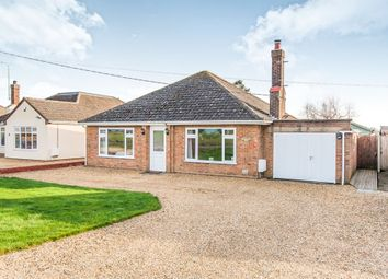 Thumbnail 3 bed detached bungalow for sale in Hungate Road, Emneth, Wisbech
