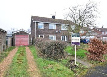 Thumbnail 3 bedroom semi-detached house for sale in Hawthorn Avenue, Grimston, King's Lynn