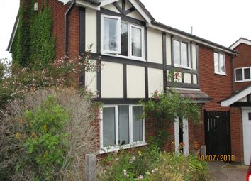 Thumbnail 4 bed detached house to rent in Camrose Close, Oakham