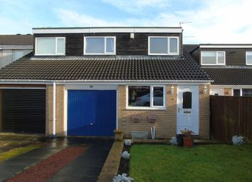 Thumbnail 3 bed terraced house for sale in Bamburgh Drive, Pegswood, Morpeth