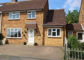 Thumbnail 4 bed semi-detached house for sale in Giffard Way, Long Crendon, Aylesbury