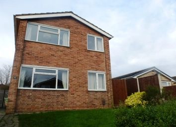 Thumbnail 3 bed detached house to rent in Andrew Close, Littleover, Derby