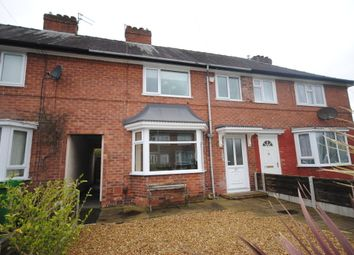 Thumbnail 3 bedroom terraced house to rent in Lawton Moor Road, Manchester