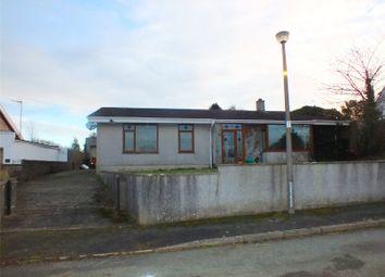 Thumbnail 3 bed detached bungalow for sale in Phillips Walk, Mastlebridge, Milford Haven