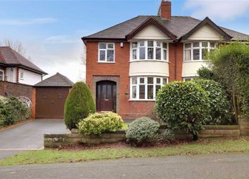 Thumbnail 3 bed semi-detached house for sale in Kingsway East, Westlands, Newcastle-Under-Lyme