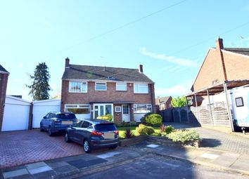 Thumbnail 3 bed semi-detached house for sale in Ufton Croft, Coventry