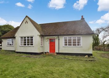Thumbnail 2 bedroom detached bungalow for sale in Pebmarsh Road, Alphamstone, Bures