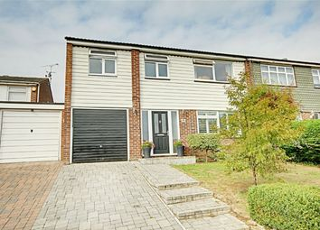 Thumbnail 4 bed semi-detached house for sale in The Crest, Sawbridgeworth, Hertfordshire