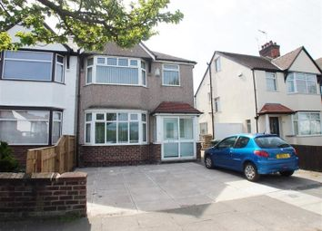 Thumbnail 3 bedroom semi-detached house to rent in Rosclare Drive, Wallasey, Wirral