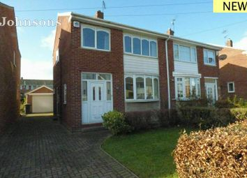 Thumbnail 3 bed semi-detached house for sale in Darrington Drive, Warmsworth, Doncaster.