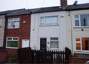 Thumbnail 3 bed terraced house for sale in Duke Street, Creswell, Worksop