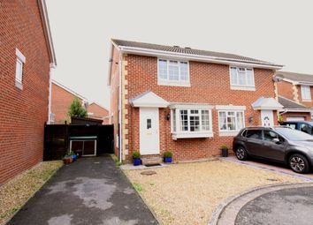 Thumbnail 2 bed semi-detached house for sale in Grace Road, Worle, Weston-Super-Mare