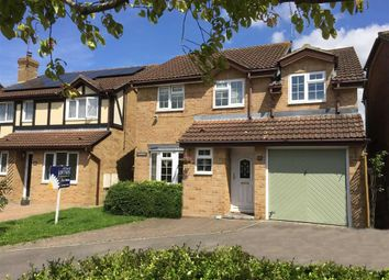 Thumbnail 4 bed detached house for sale in Friesian Close, Shaw, Swindon