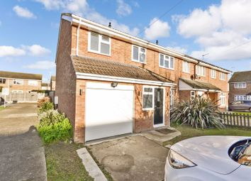 Thumbnail 4 bed end terrace house for sale in Brindles Close, Linford