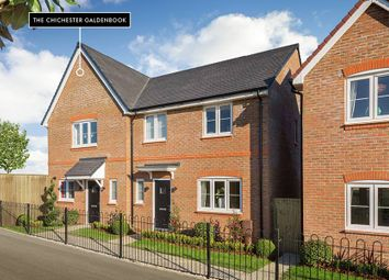 "Thumbnail 2 bedroom semi-detached house for sale in ""The Chichester Galdenbrook Semi Detached"" at Shopwhyke Road, Chichester"
