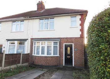 Thumbnail 2 bedroom semi-detached house for sale in Albert Road, Chaddesden, Derby