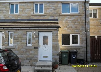 Thumbnail 3 bed town house to rent in Hall Garth, Huddersfield