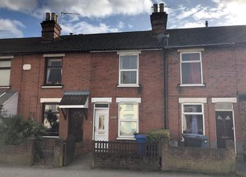 Thumbnail 2 bed terraced house for sale in Spring Road, Ipswich