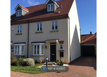 Thumbnail 4 bed semi-detached house to rent in Heston Walk, Milton Keynes