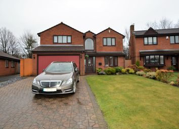 Thumbnail 4 bed detached house to rent in Cartier Close, Old Hall, Warrington