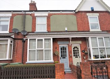 Thumbnail 3 bed terraced house for sale in St. Augustine Avenue, Grimsby