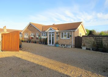 Thumbnail 5 bed detached bungalow for sale in The Chase, Crowland, Peterborough