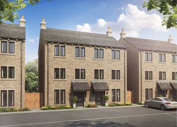Thumbnail 4 bed semi-detached house for sale in Hillcrest View, Golcar, Huddersfield