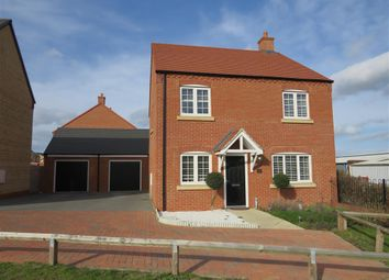 Thumbnail 4 bed detached house for sale in The Turrets, Thorpe Street, Raunds, Wellingborough