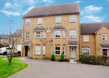 Thumbnail 3 bed town house for sale in Spencer Road, Wellingborough