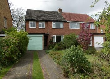 Thumbnail 3 bedroom semi-detached house for sale in Rushleigh Road, Shirley, Solihull, West Midlands
