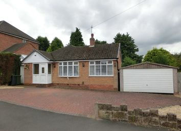 Thumbnail 3 bed detached bungalow for sale in Corbett Road, Hollywood, Birmingham