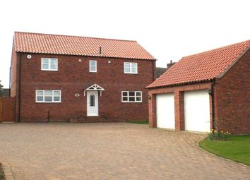Thumbnail 4 bed detached house to rent in East Street, Bole, Retford