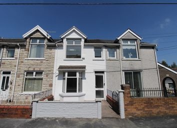 Thumbnail 3 bed terraced house for sale in Ashvale, Tredegar