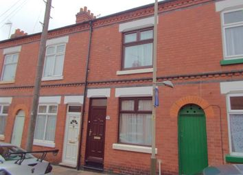 Thumbnail 2 bedroom terraced house for sale in Cromer Street, Leicester