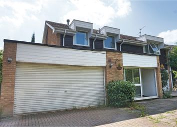 Thumbnail 5 bedroom detached house for sale in Byron Court, Swindon
