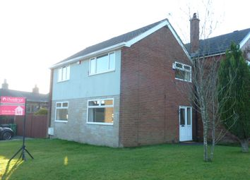 Thumbnail 3 bed semi-detached house to rent in Quarlton Drive, Hawkshaw, Bury