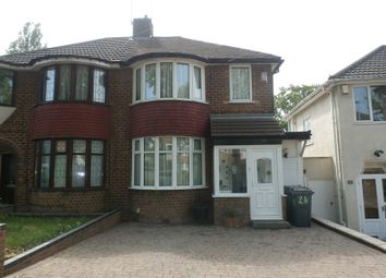 Thumbnail 3 bed semi-detached house for sale in Duncroft Road, Yardley, Birmingham