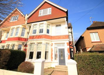 Thumbnail 6 bed end terrace house for sale in Wickham Avenue, Bexhill-On-Sea