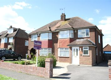 Thumbnail 3 bed semi-detached house to rent in Selbourne Avenue, New Haw, Surrey
