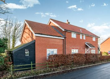 Thumbnail 4 bed detached house for sale in The Street, Bedingfield, Eye