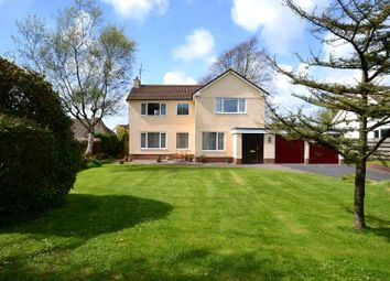 Thumbnail 4 bed detached house for sale in Freshwater East Road, Lamphey, Pembroke