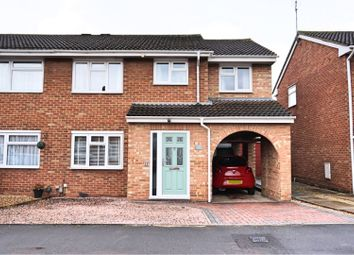 Thumbnail 4 bed semi-detached house for sale in Haig Close, Swindon