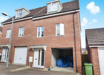 Thumbnail 3 bedroom town house for sale in Magnolia Way, Costessey, Norwich