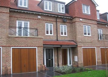 Thumbnail 3 bed town house to rent in Highbridge Close, Radlett, Hertfordshire