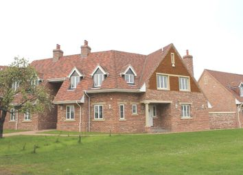 Thumbnail 4 bedroom link-detached house for sale in The Green, North Runcton, King's Lynn
