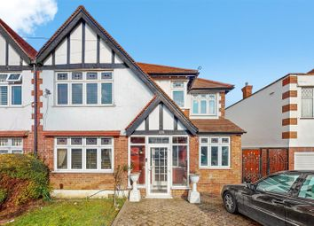 Thumbnail 5 bed semi-detached house for sale in Carlton Avenue West, Wembley