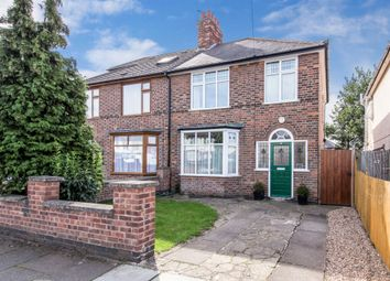 Thumbnail 3 bed semi-detached house for sale in Evesham Road, Leicester