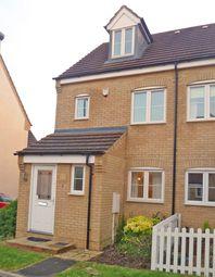Thumbnail 3 bedroom semi-detached house to rent in Oberon Way, Milton Keynes