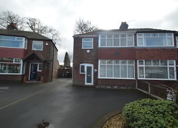Thumbnail 3 bed semi-detached house for sale in Bossington Close, Stockport